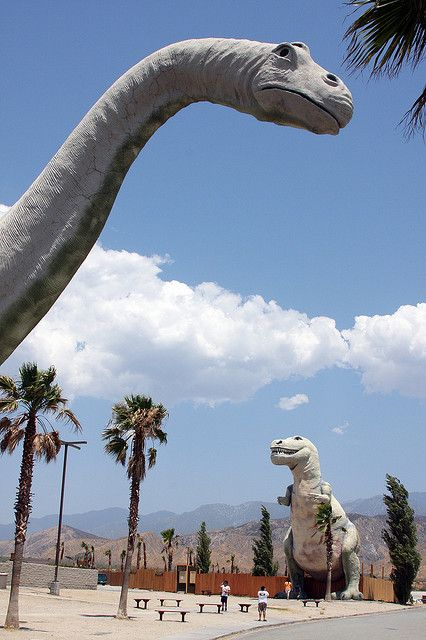 Cabazon Dinosaurs Palm Springs, CA HWY10 http://www ...