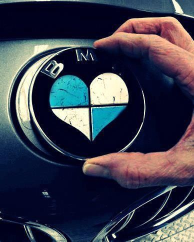 BMW Love. If I ever get a BMW, this is happening!!