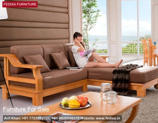 Wooden Sofa Set Simple Design Of Wooden Sofa Buy Sofa Set Online Fedisa Sofa