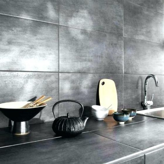 Carrelage Mural Adhesif Cuisine With Images Kitchen Worktop Kitchen Tiles Kitchen Desing