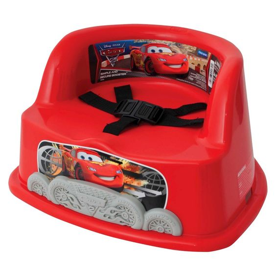 The First Years Simple and Secure Booster - Disney-Pixar Cars, Blue