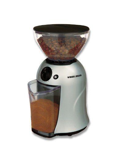 Black Decker 12 Cup Coffee Bean Grinder Mill