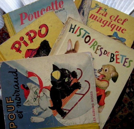 Années 50 livres pour enfants Collection Mon petit livre d'Or