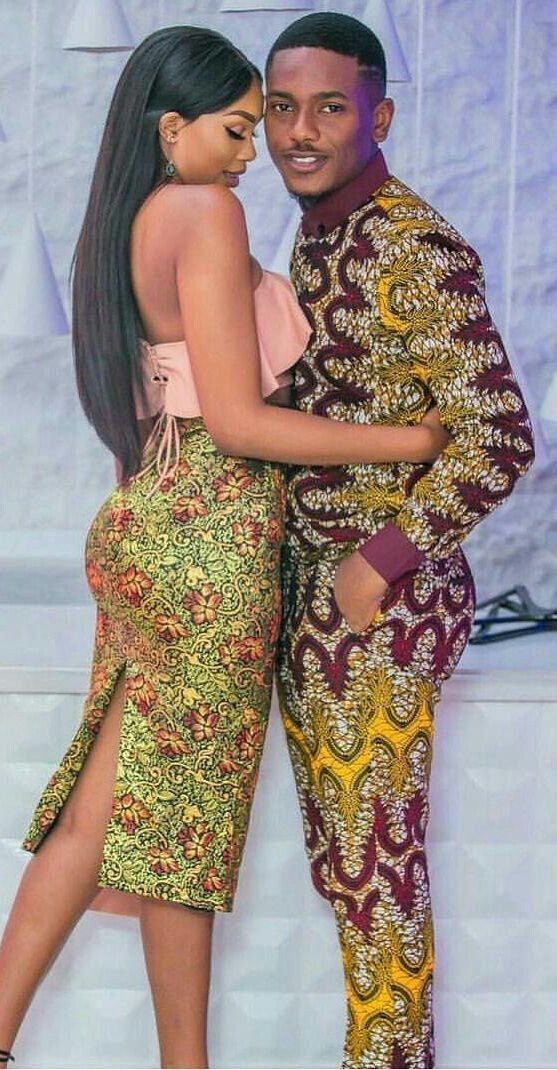 Best of Ankara Styles for Couples | African clothing, African ...