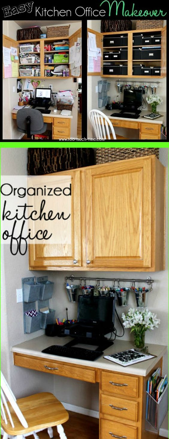 organized kitchen office makeover tips office spaces