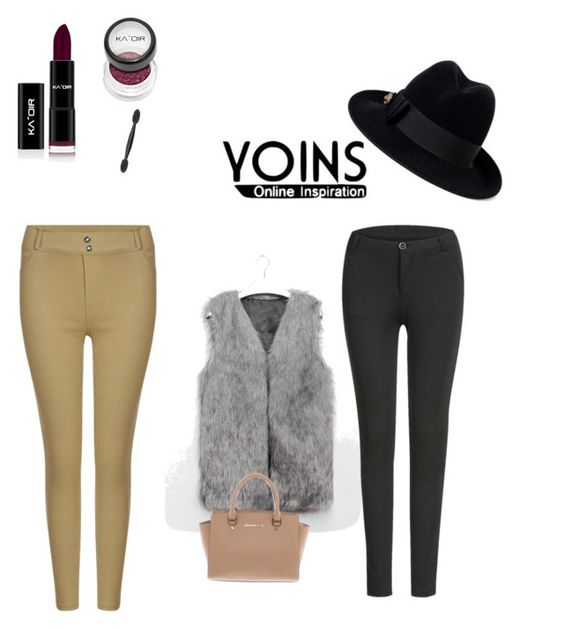 """""""Yoins"""" by amarlys ❤ liked on Polyvore featuring Michael Kors, Gucci, yoins and loveyoins"""