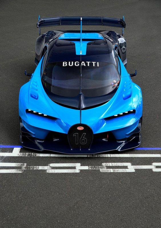 Bugatti Vision Gran Turismo Super Cars Bugatti Sports Cars Luxury