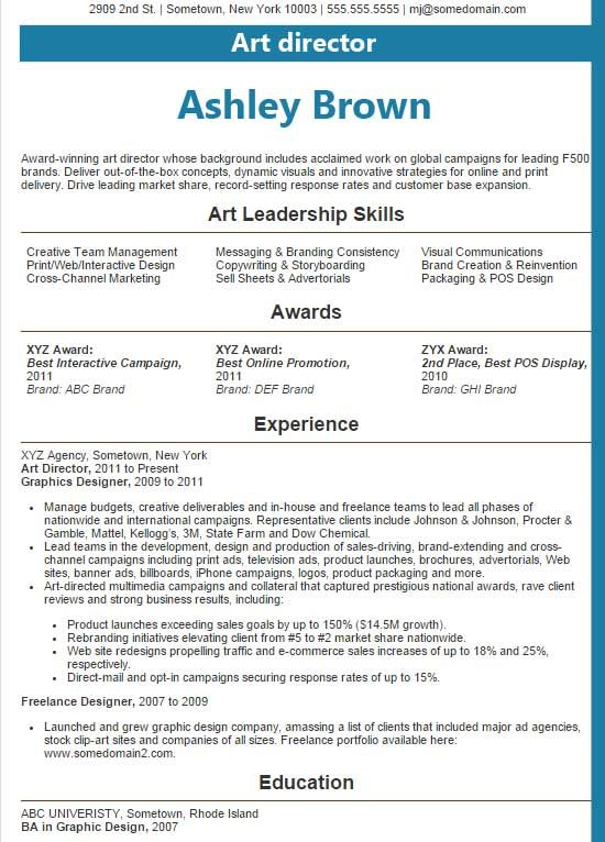 Leadership Skills Resume