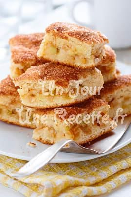 Gâteau aux pommes express, la recette facile et rapide