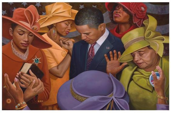 """""""Yes We Can - Citizens United"""", by Henry Lee Battle"""