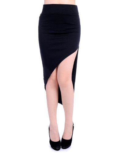 Anna-Kaci S/M Fit Asymmetrical Side Thigh High Slit Pointed Hem Skirt Anna-Kaci,http://www.amazon.com/dp/B00FDZSGJY/ref=cm_sw_r_pi_dp_ek.ktb0FJ442MJPS
