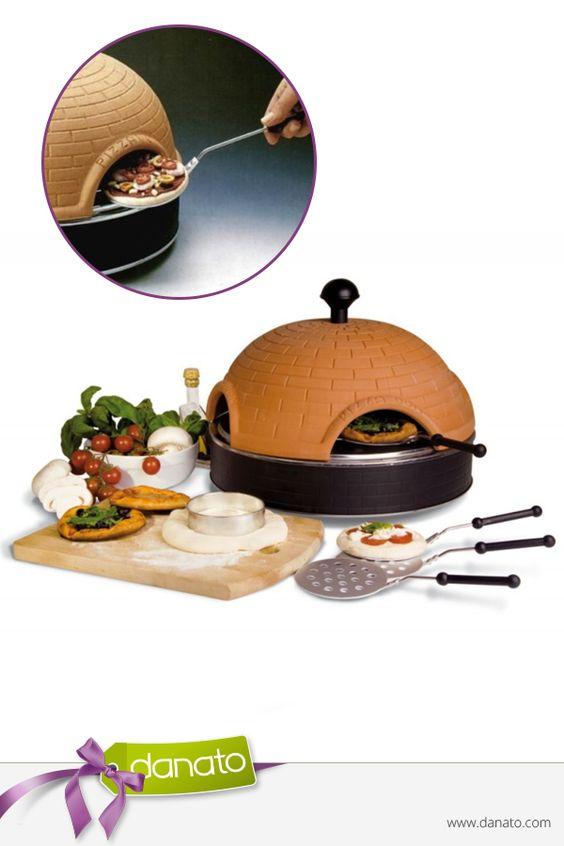 Kreiere deine Wunsch-Pizza in nur 5 Minuten #danato #küchenhelfer #pizza #miniofen
