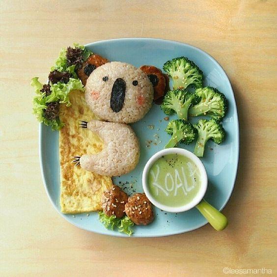 KOALA lunch plate: