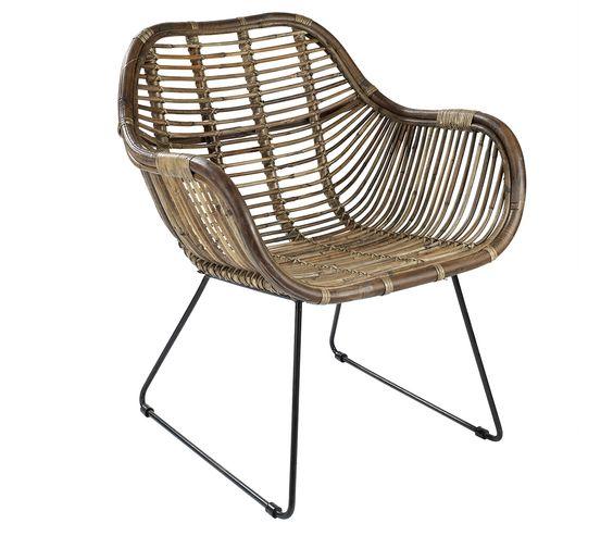 Bali chaise rotin casa 129 fauteuils a diner - Chaise enfant casa ...