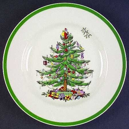 Christmas Tree pattern from Spode