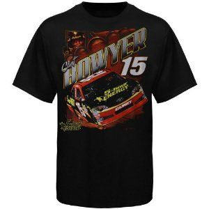 """NASCAR Clint Bowyer One Spot Gauge T-Shirt - Black (XXX-Large) by The Game. $19.95. There is only one speed in NASCAR: Clint Bowyer speed. The other drivers better keep upâ?""""thatâ?TMs all t. Clint Bowyer One Spot Gauge T-Shirt - BlackImportedOfficially licensed NASCAR product100% CottonScreen print graphicsTagless collar100% CottonScreen print graphicsTagless collarImportedOfficially licensed NASCAR product"""