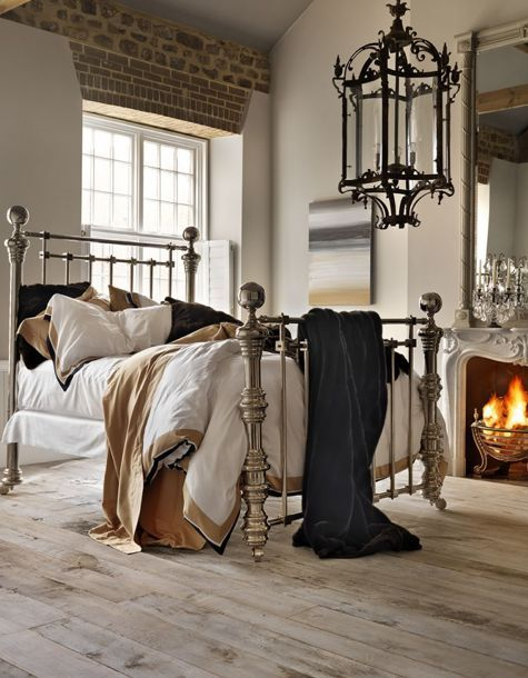 Beds Brass And Floors On Pinterest