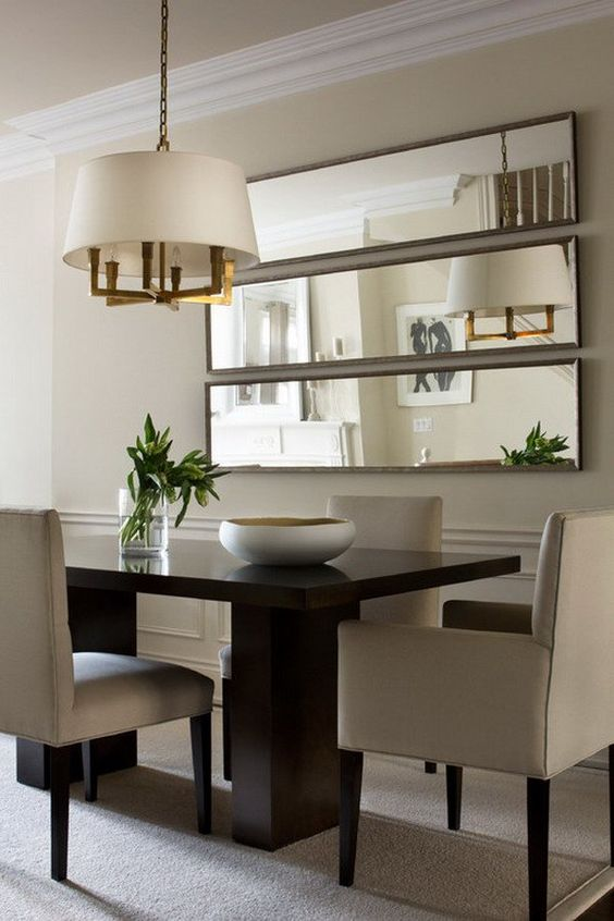 Small Modern Dining Room Decorating Ideas: 40+ Beautiful Modern Dining Room Ideas