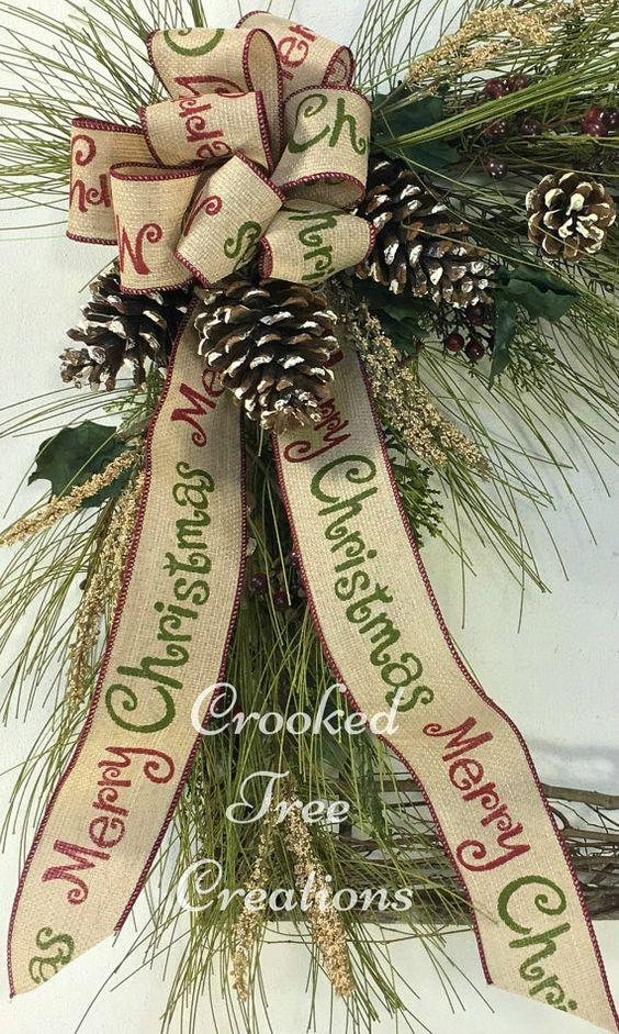 Guirnalda de la Navidad guirnalda de por CrookedTreeCreation