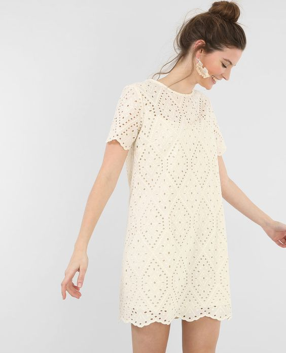 Robe broderies anglaises blanc cassé http://www.pimkie.fr/p/robe-broderies-anglaises-780414918A09.html#start=1
