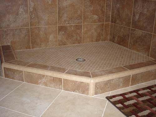 ceramic tile shower   Shower Curb or Shower Dam. ceramic tile shower   Shower Curb or Shower Dam   Bathroom Ideas