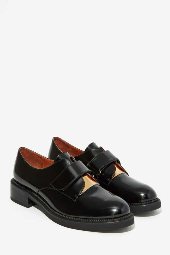 Jeffrey Campbell Oxfords And Leather On Pinterest