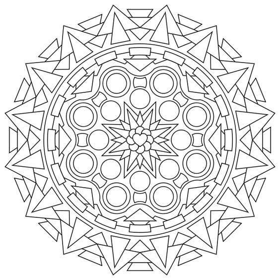 free printable coloring pages mandala designs | Free Printable Mandala Coloring Pages | Back to Post :Free ...