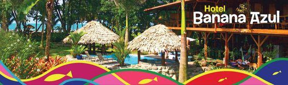 Hotel Banana Azul - Puerto Viejo de Talamanca, Limon, Costa Rica - Carribean Coast Beachfront Lodging