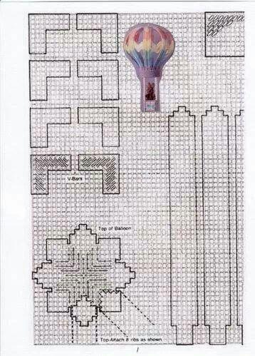 Eots balloon patt3 | Plastic Canvas | Pinterest | Plastic ...