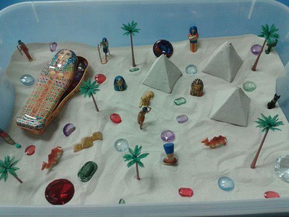 Egypt Sensory Box: