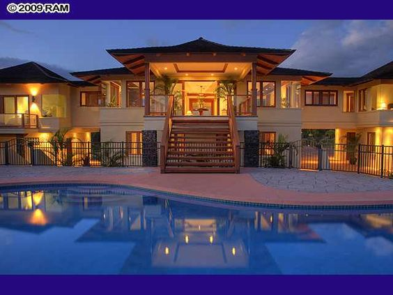 My dream house in hawaii for My dream homes