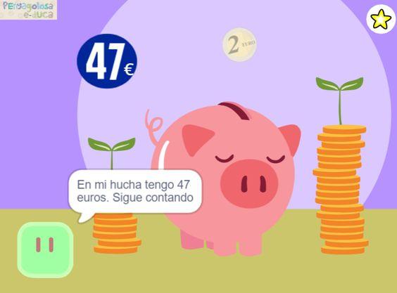 Guardar dinero en la hucha (10-100)