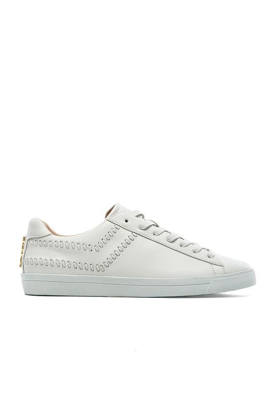 Pony Topstar Ox Leather Lux in White