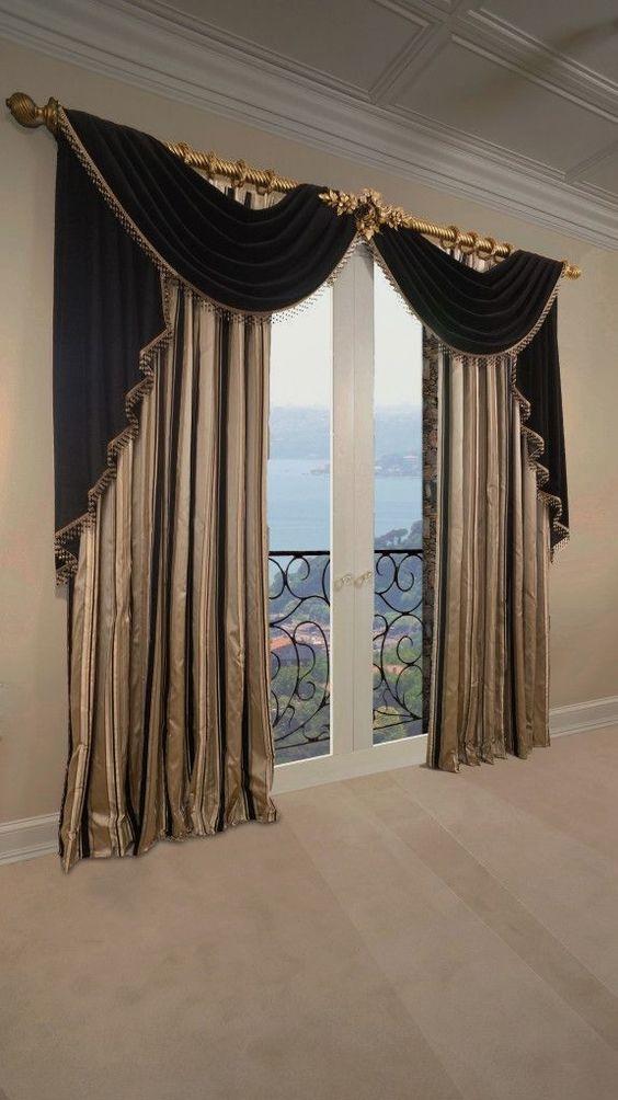Brilliant Modern Windows Curtains