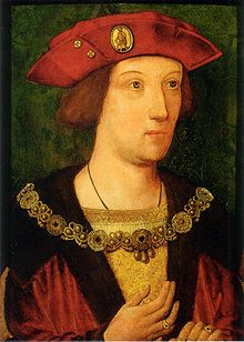 Arthur Tudor, Prince of Wales  around the time of his marriage to Catherine of Aragon, 1501.
