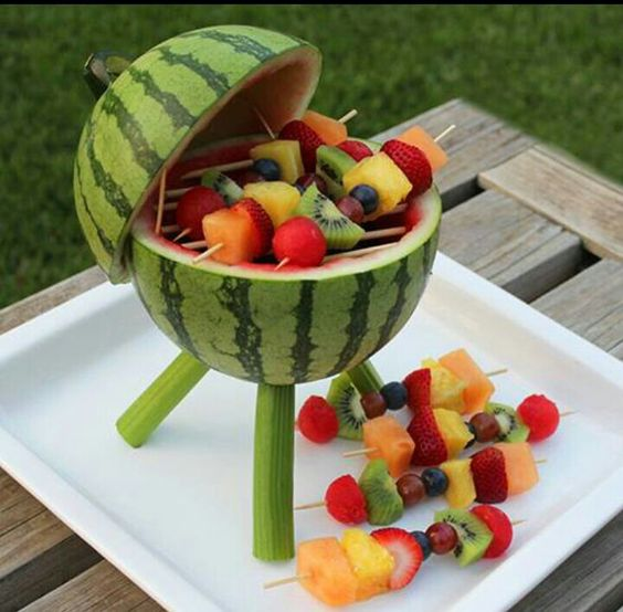 Meloen bbq mmm