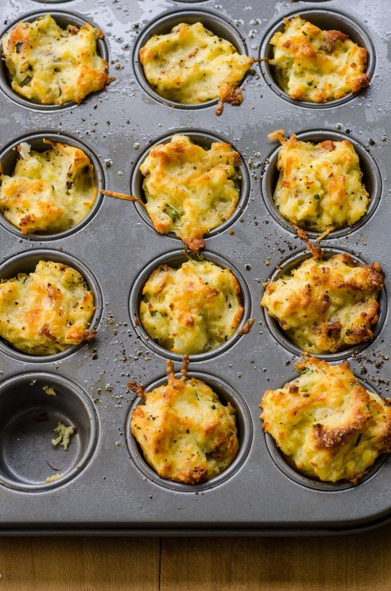 These Cheesy Mashed Potato Puffs Are the Best Way to Eat Leftover Mashed Potatoes