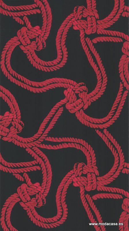 Papel Pintado Cole & Son  Rope 93/9033 . Disponible online en Modacasa.es