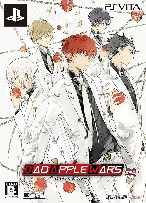 Bad Apple Wars Limited Edition Game PS Vita