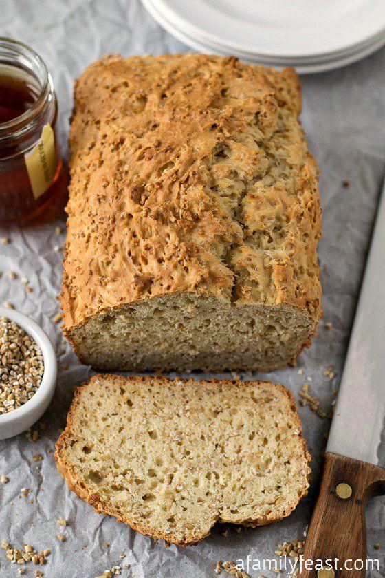 Cut Oatmeal Honey Bread | Recipe | Honey Bread, Steel Cut Oatmeal ...