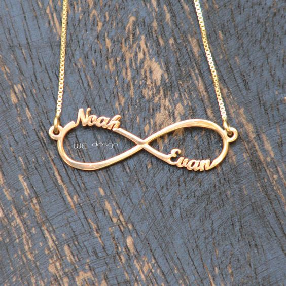 Gold Infinity Necklace, Gold plated Infinity Charm Necklace, Gold Infinity Charm, Bridesmaids Gift