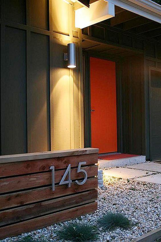 front door spot light