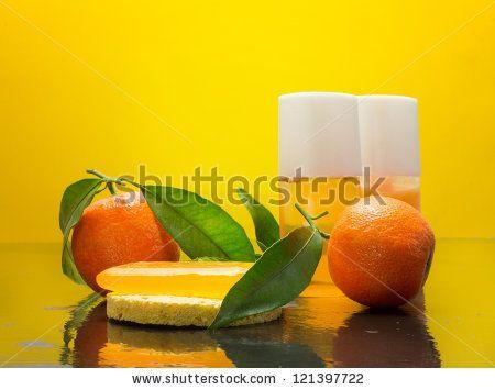 clementine bar of soap and essential oils by Donatella Tandelli, via Shutterstock