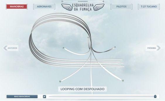 Infográfico sobre a esquadrilha da fumaça: http://bit.ly/GJqUlc