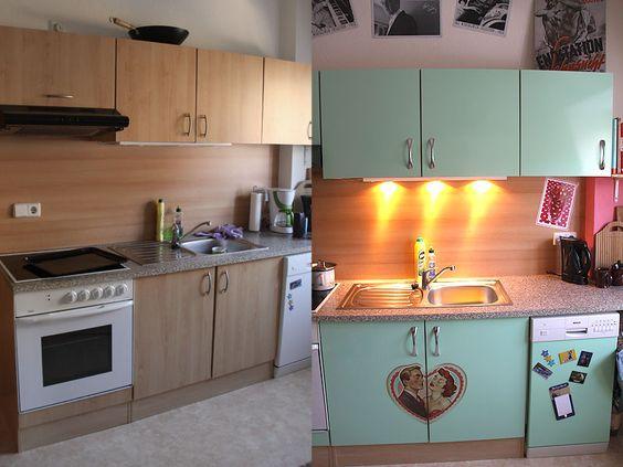 Küche im Fifties Style   cedeko werbung