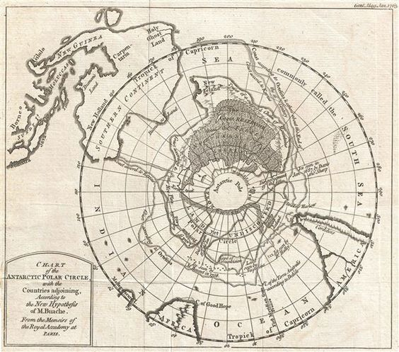 """""""It should therefore probably be always borne in mind that cartography has always been a blend of art and science – which of course is one of the reasons why it so fascinates us."""" Speculative Polar Cartography – Then and Now"""
