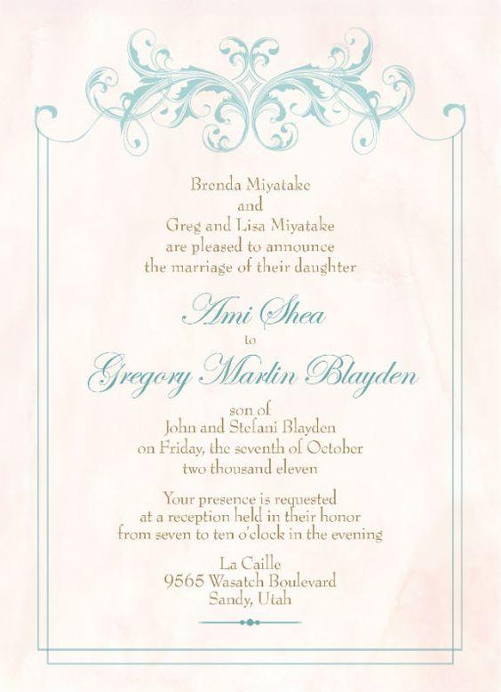 lds temple wedding invitation wording google search wedding