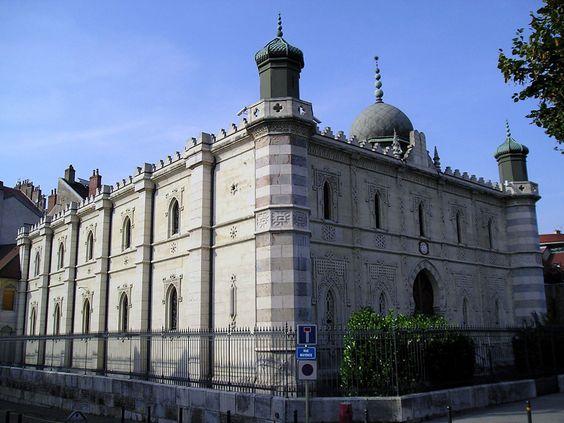 Synagogue Besançon - Besançon – Wikipedia — myself