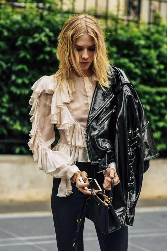 54 Ruffle Blouses To Wear Today outfit fashion casualoutfit fashiontrends