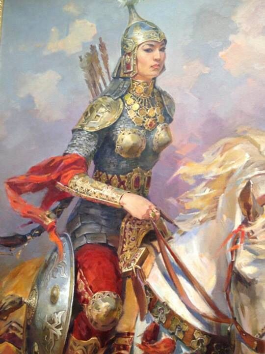Turkish Warrior Woman: